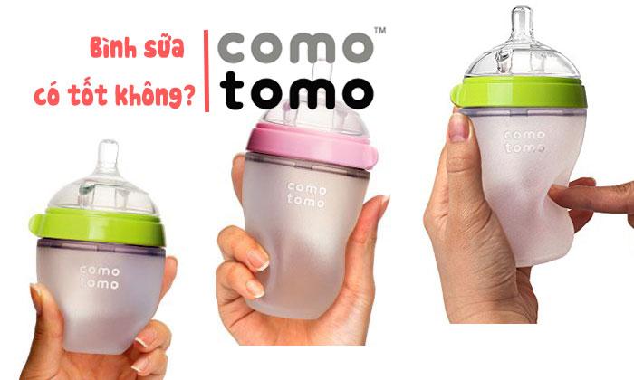 Bình sữa Comotomo có tốt không