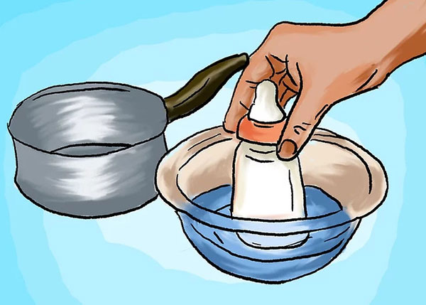 Hướng dẫn cách làm ấm sữa mẹ