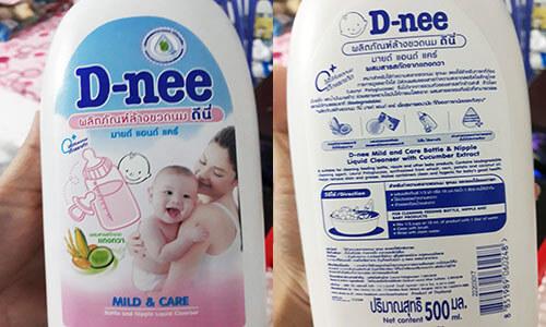 Nước rửa bình sữa Dnee có tốt không