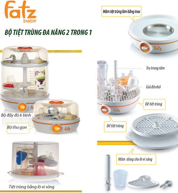 cách sử dụng máy tiệt trùng Fatz Hàn Quốc
