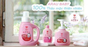 Nước rửa bình sữa Arau có tốt không? Đặc điểm và giá bán là bao nhiêu?