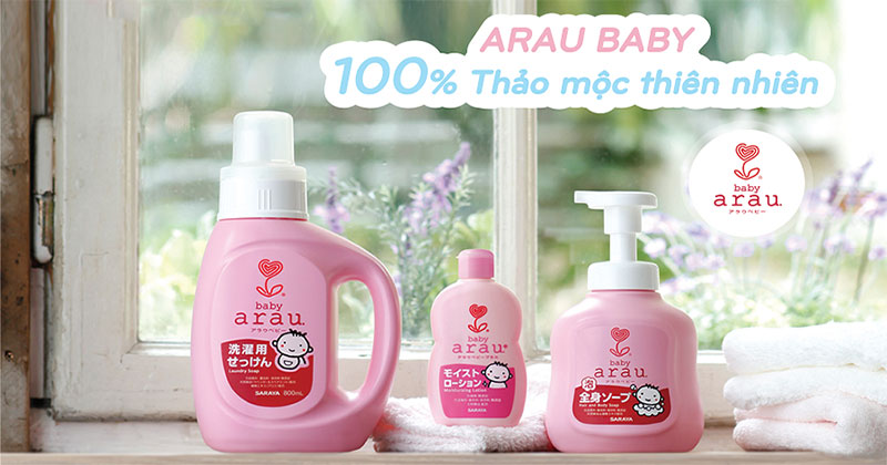 Nước rửa bình Arau Baby có tốt không