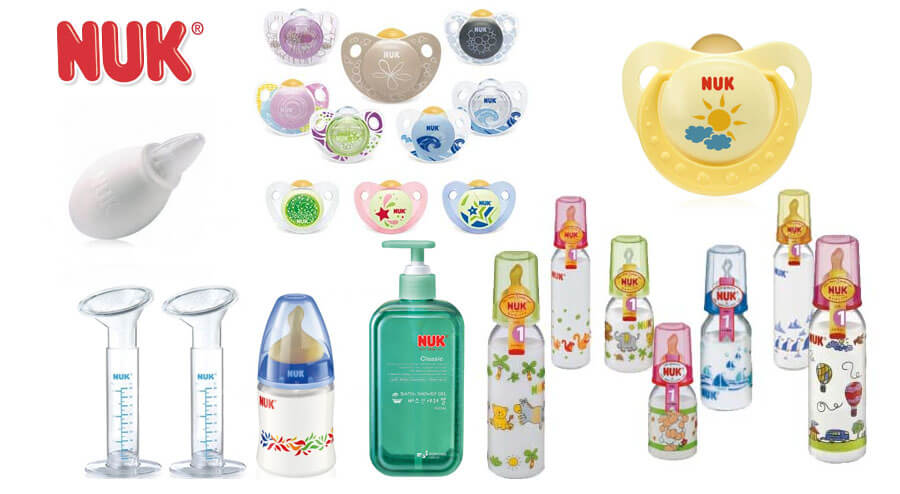 Các sản phẩm của thương hiệu Nuk