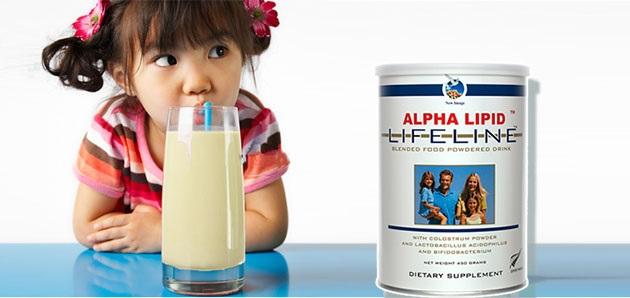sữa non cho trẻ nhỏ
