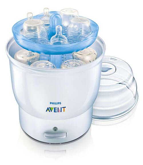 Máy tiệt trùng bình sữa bằng điện