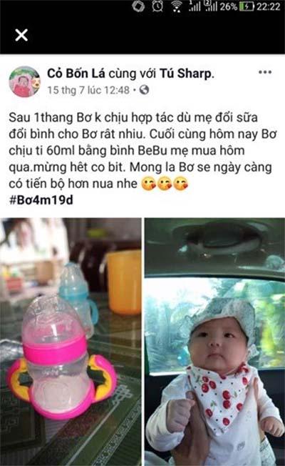 Bình sữa Bebu tốt cho bé