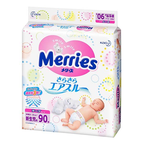 Bỉm Merries Nhật Bản rất tốt