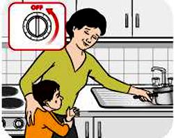 Cách sơ cứu trẻ sơ sinh bị bỏng (1)