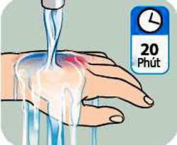 Nuóc sạch có tác dụng giải nhiệt