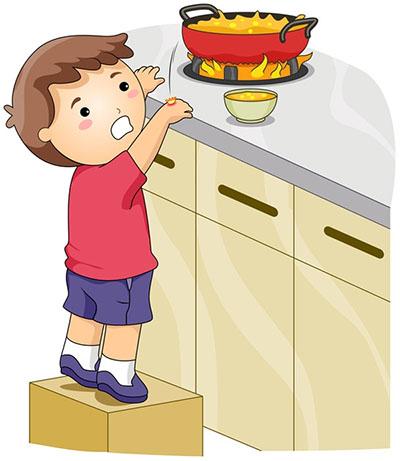 Cách sơ cứu trẻ bị bỏng