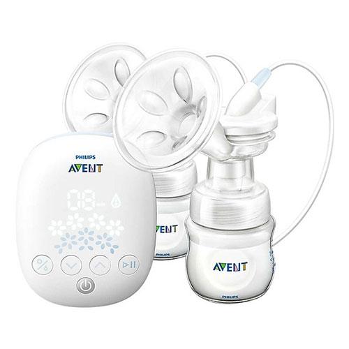 Máy hút sữa điện đôi Avent