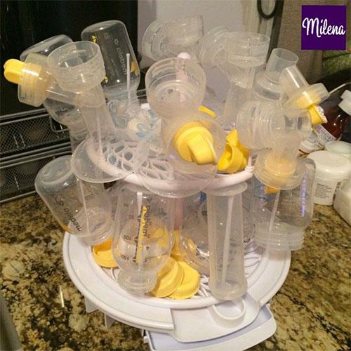 Hướng dẫn cách vệ sinh máy hút sữa đúng cách