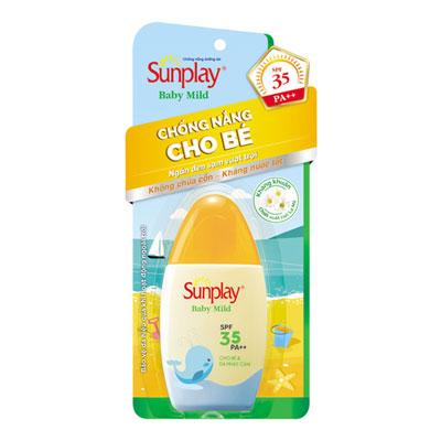 Kem chống nắng Sunplay Baby Mild SPF 35/pa++ 30G