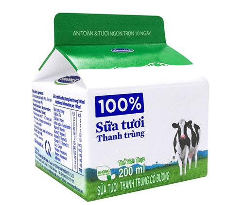 Sữa tươi thanh trùng