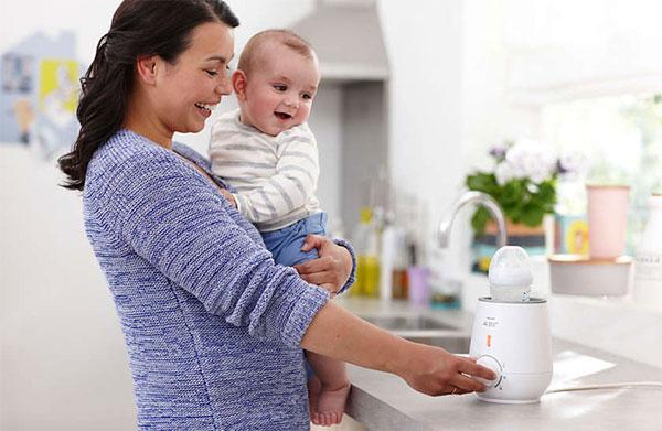 Hướng dẫn sử dụng máy hâm sữa Avent