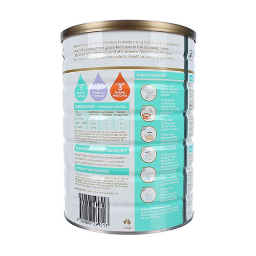 Hướng dẫn cách pha sữa Blackmores theo chỉ dẫn của nhà sản xuất