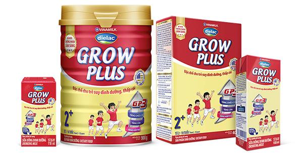 Đặc điểm nổi bật của sữa Grow Plus của Vinamilk
