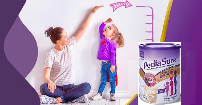 Sữa PEDIASURE Úc giúp bé phát triển chiều cao tối ưu nhất