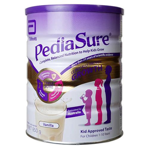 Hướng dẫn pha sữa Pediasure Úc đúng cách