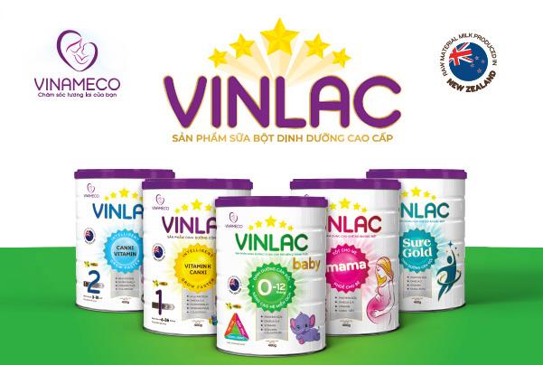 Sữa Vinlac là một dòng sữa của Vinameco Việt Nam