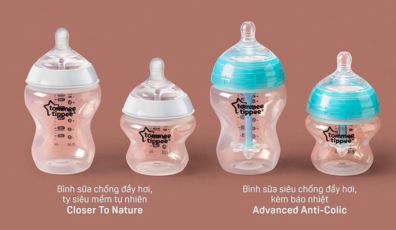 Bình sữa Tommee Tippee là loại bình sữa tốt mẹ nên tham khảo và lựa chọn cho bé