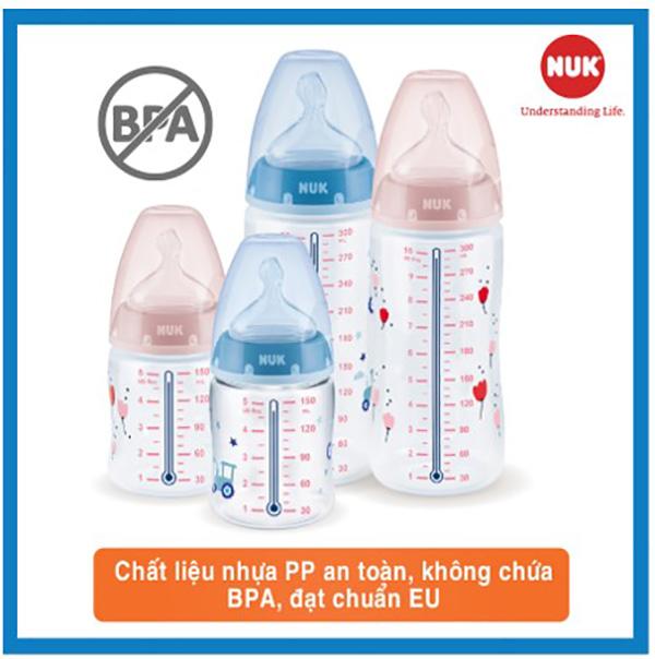 Bình sữa nhựa PP đạt chuẩn châu Âu (eu)