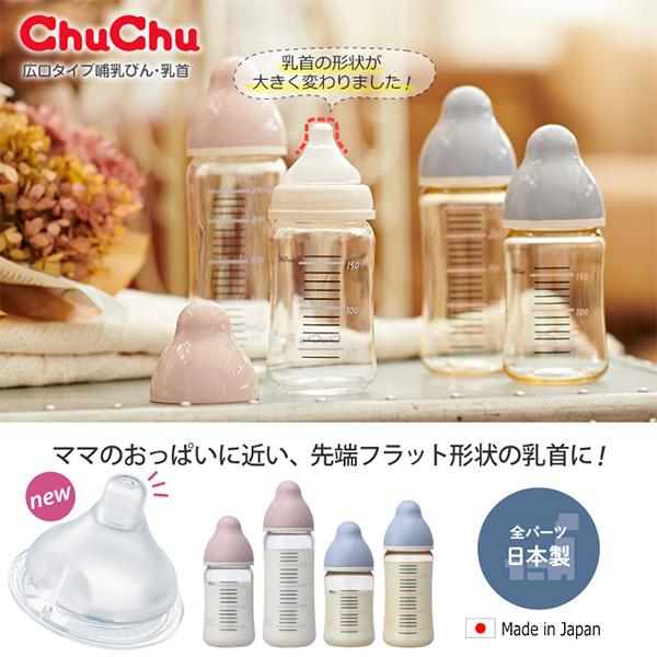 Bình sữa bằng nhựa PPSU Chuchubaby