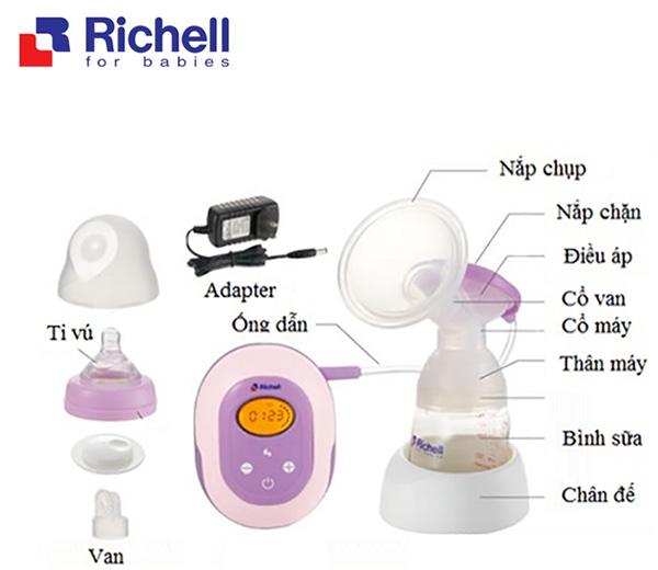 Máy hút sữa Richell Nhật Bản