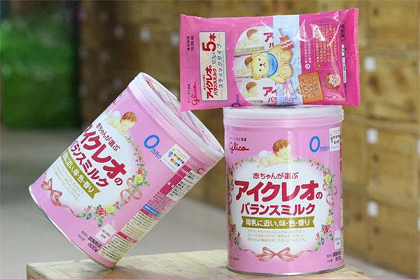 Sữa Glico số 0 cho bé 0 - 1 tuổi của Nhật